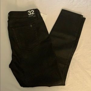Joes Jeans - The Icon - black coated skinny ankle